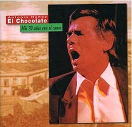 chocolate mis 70 anos con el cante